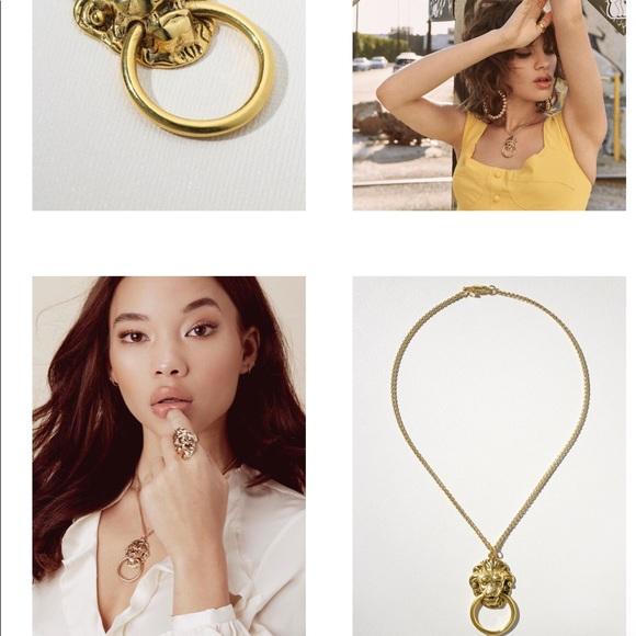 4e86ceecd63d Vanessa Mooney Jewelry | The Vixen Door Knocker Necklace | Poshmark